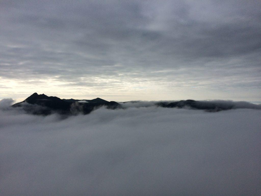 摩周湖の雲海